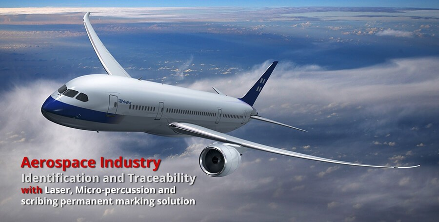 aerospace marking/engraving   HeatSign - industrial marking systems