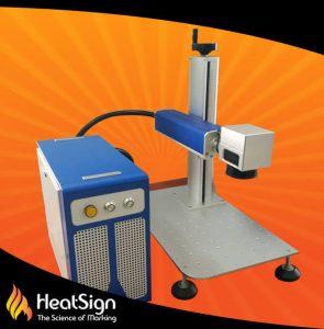 10watt Fiber Laser Marking Machine; HeatSign; fiber laser engraver