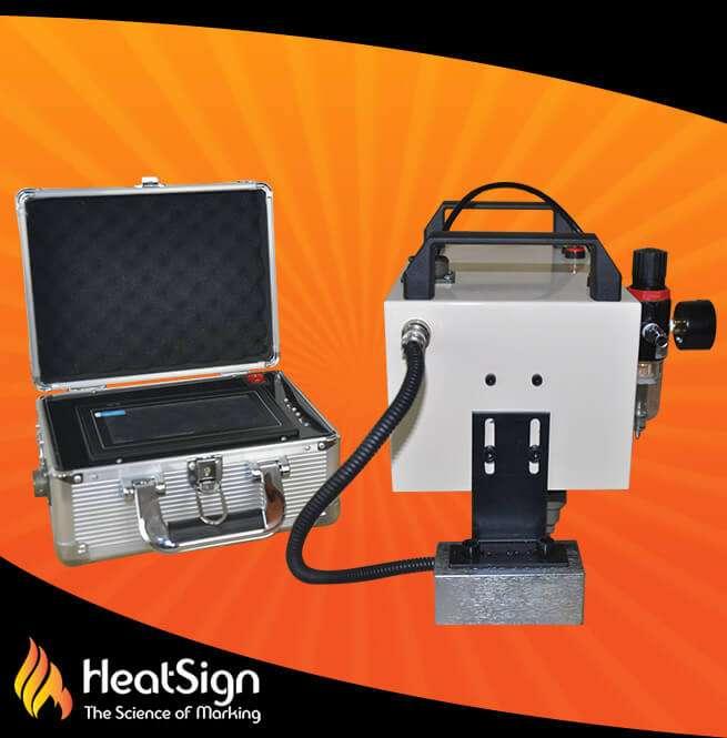 CNC Portable Dot Peen Marker; HeatSign;