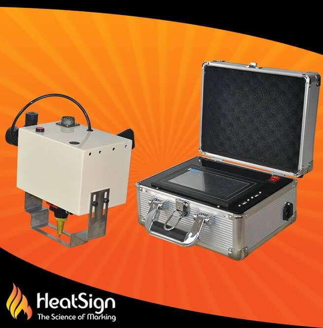 HeatSign Dot Peen Marking Machine