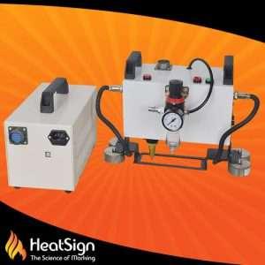 Portable pneumatic metal marking mametal engraving machine | HeatSign | metal engraving machine