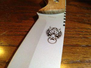 ceramic knife laser marking | HeatSign - laser marking machines| metal etching machine