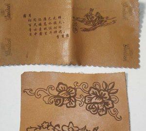 laser engraving leather | HeatSign - marker machine