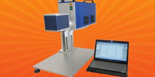 HS-CL30 | CO2 Laser Marking Machine | HeatSign - laser etching machine