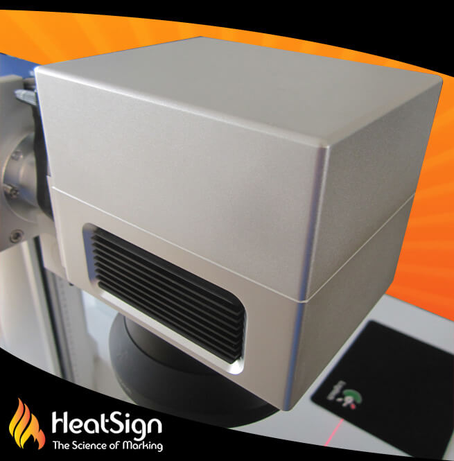 Digital laser scan head | HeatSign - laser marking machine