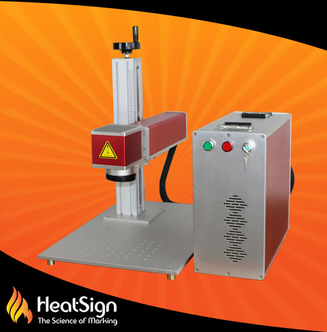 metal engraving machine   Fiber Laser Engraving System   HeatSign - fiber laser engraver