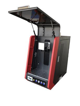 enclosure fiber laser engraver
