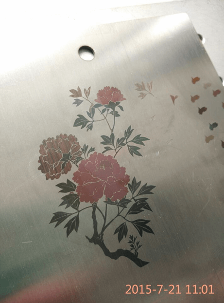 stainless steel color marking
