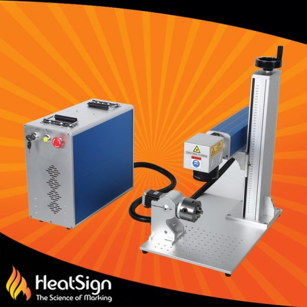 50W JPT Fiber Laser Engraver with Rotary Axis