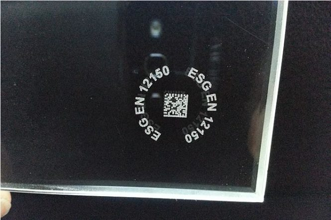 Logo Mark on Glass