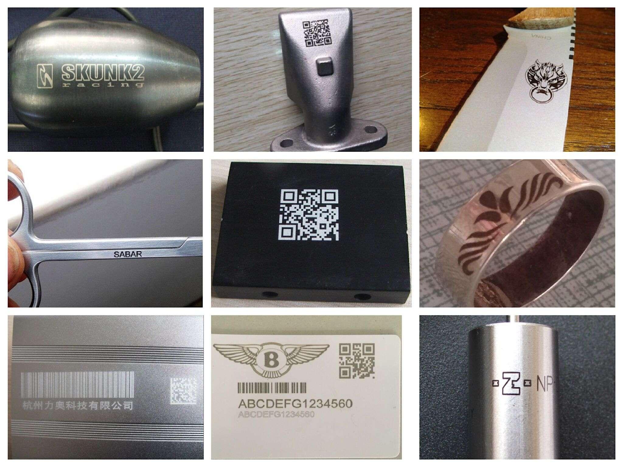 Fiber Laser Marking Material