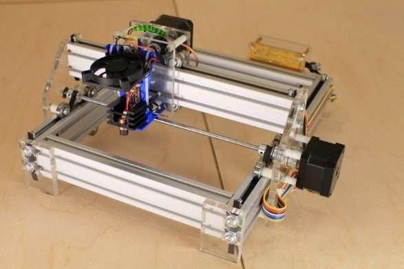 DIY Desktop Laser Engraver