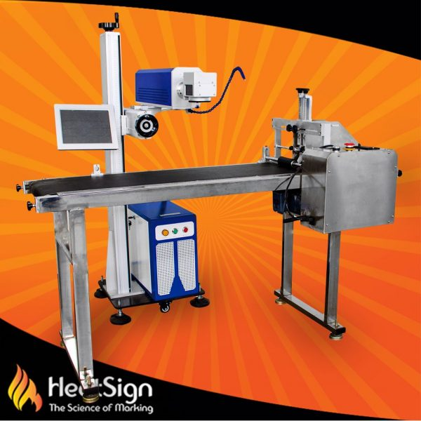 on the fly laser marking machine