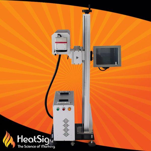 CO2 online laser marking machine