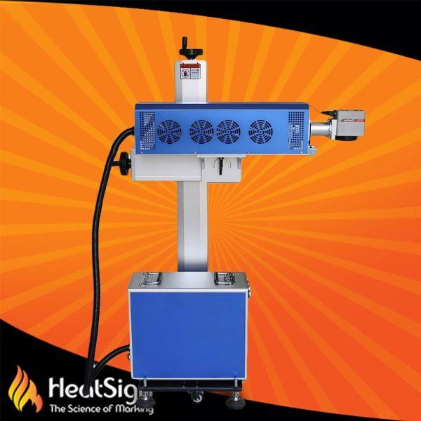 Co2 fly laser marking machine