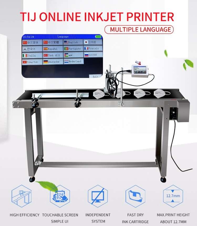 TIJ online inkjet printing