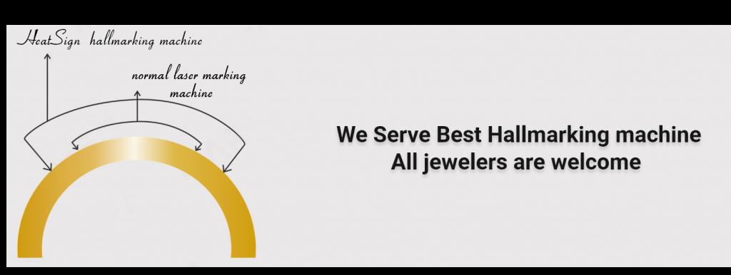 we serve the best hallmarking machine