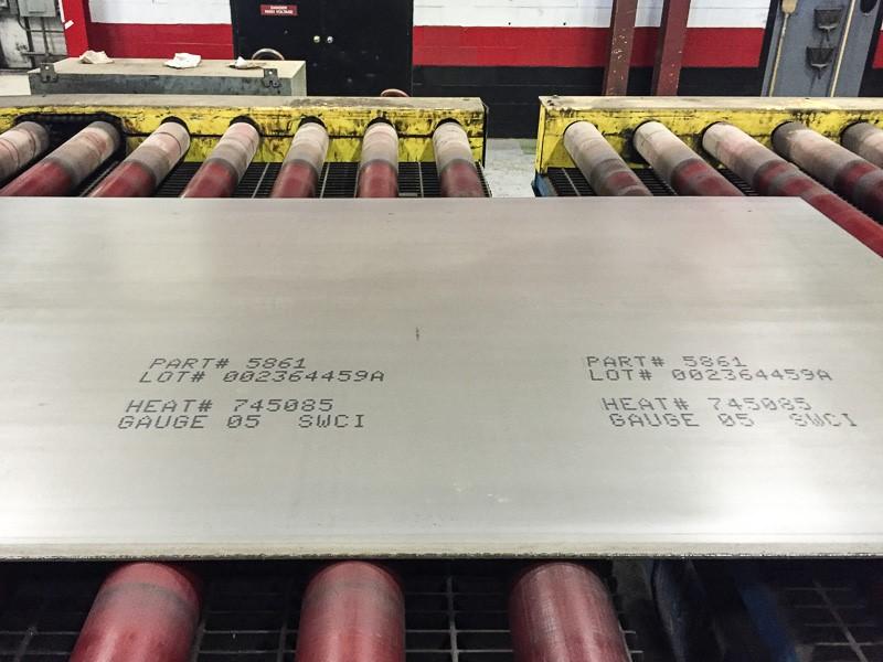 ink jet marking method