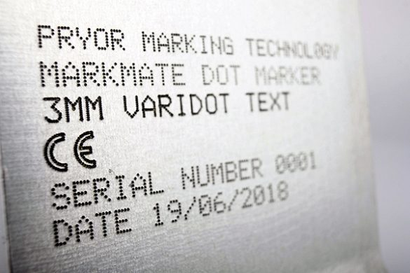 serial number marking processes you can use