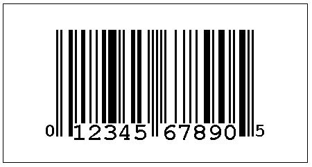 universal product code (upc a)