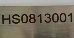 alphanumeric marking