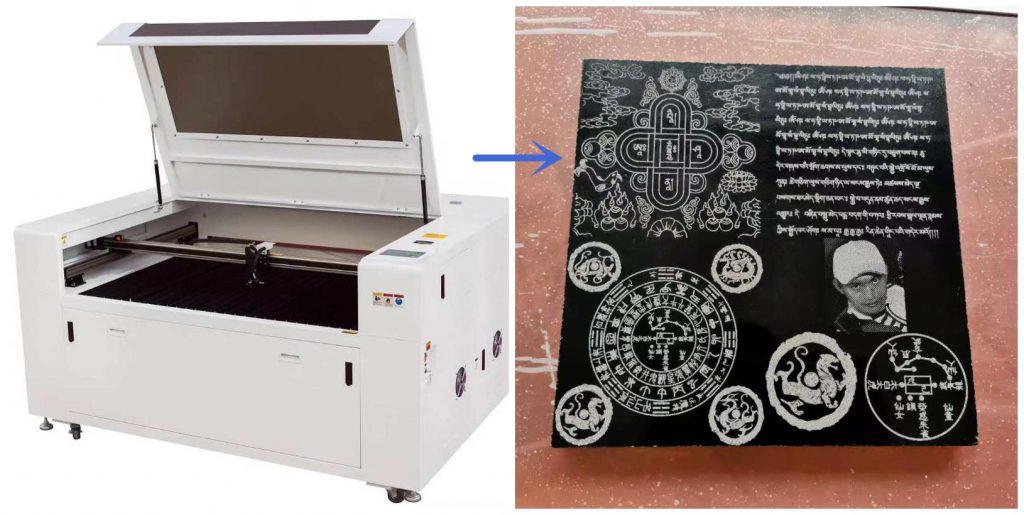 laser stone engraving machine