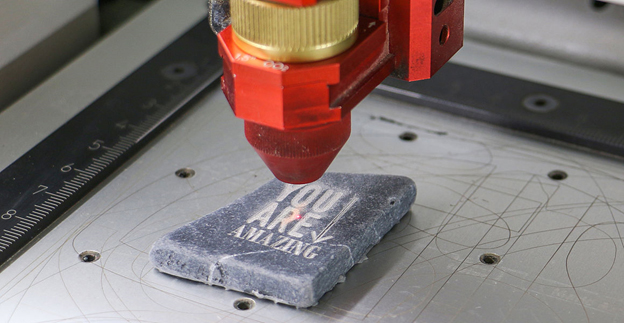 stone laser marking