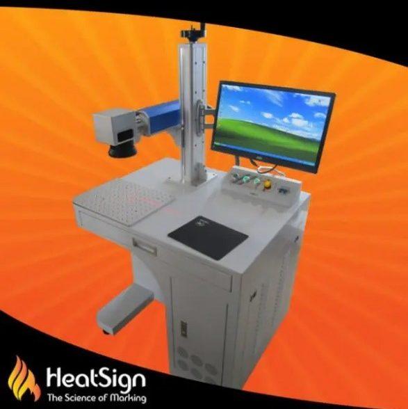 HS-FL20 30W Fiber Laser Marking Machine