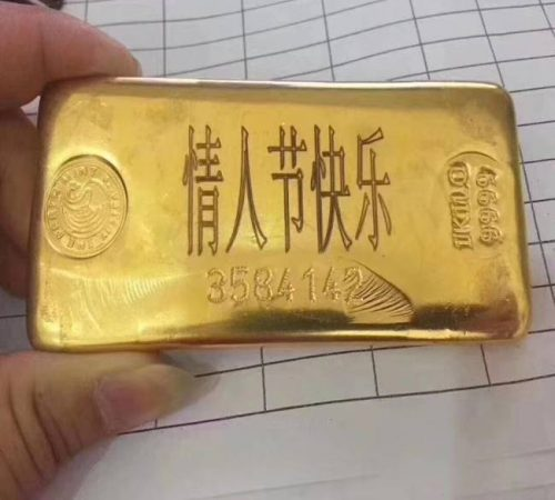 gold marking and engraving